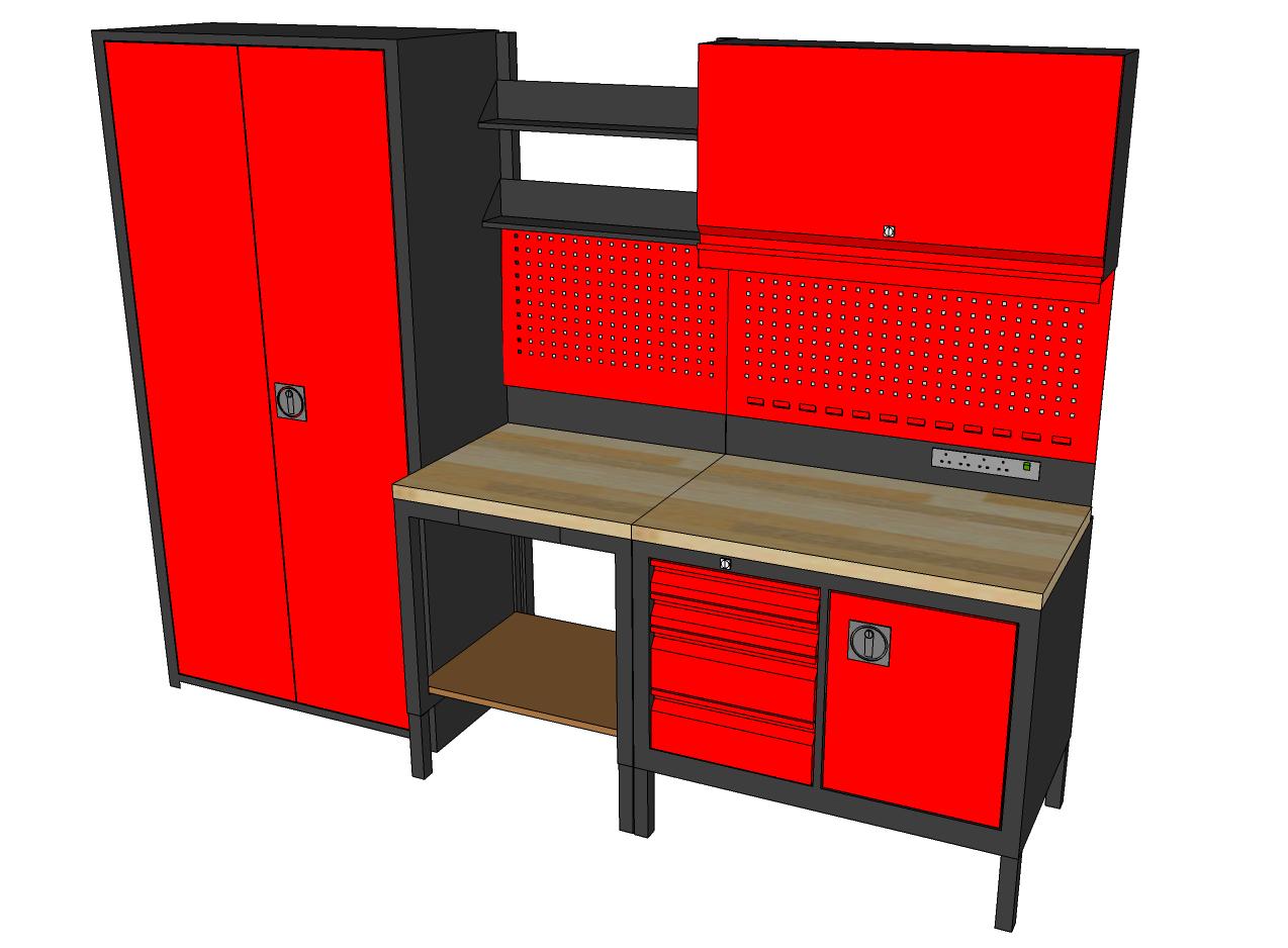 dp posse kitchen shop black amazon storage dining station garage com shelf pit trailer race enclosed aluminum work cabinet